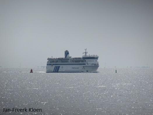 De boot naar Terschelling