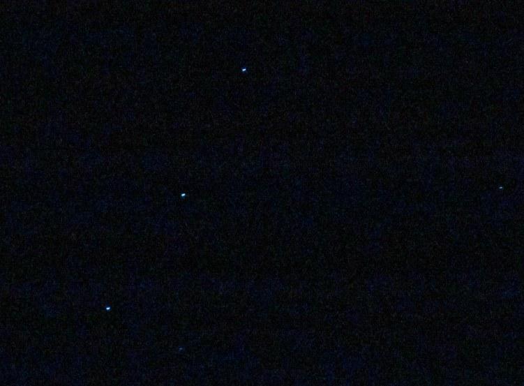 De drie opvallendste sterren van Orion