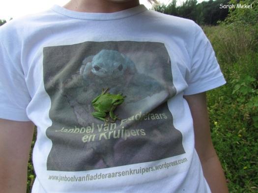 Toepasselijk bij mijn shirt!