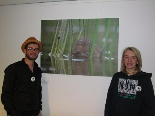Op de foto met Jasper Doest bij mijn foto